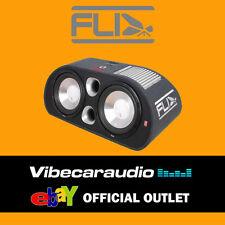 "Fli FT12TA-F6 12"" Twin 2400 Watt Active Enclosure Bass Box Subwoofer Amplifier"
