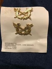 in Collectible Lapel Pin Army Judge Advocate General 1