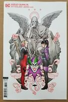 Harley Quinn #75 Comic - FRANK CHO VARIANT ~ Harley - Punchline - 1st Print 🔥🚀