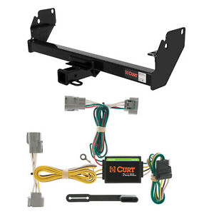 Curt Class 3 Trailer Hitch & Wiring for Toyota Tacoma
