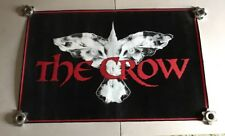 The Crow Movie Title Black Light Poster - Used - RARE Vintage 1990's