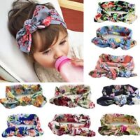 Baby Girls Hair Band Flower Bow Headband Turban Knot Hair Accessories 0-4T