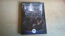 MEDAL OF HONOR: ALLIED ASSAULT - PC GAME - ORIGINAL & COMPLETE WITH BOTH MANUALS