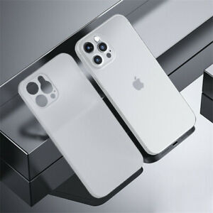 0.2MM Thin Case For iPhone 13 Pro Max 13 Mini Shockproof Matte Hard Clear Cover
