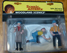 Woodland Scenics G Scale #2542 - Spike, Neil & Ty