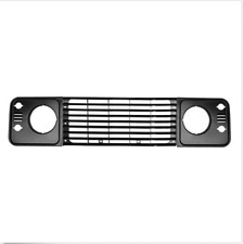 LAND ROVER DEFENDER HEADLIGHT SURROUNDS BEZELS & GRILL GRILLE FACIA SET. *NEW*