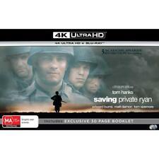 Saving Private Ryan BLURAY 4k UHD HDR Collector's Edition Spielberg Hanks