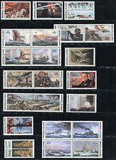 Marshall Islands 1989-1995 World War 2 WW II  Scott 239-337+467-524 - W1-100 NH