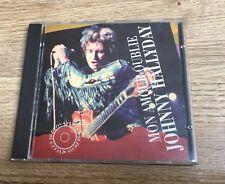 CD Johnny HALLYDAY Mon amour oublié 10 duos Italie 1992 EXC+