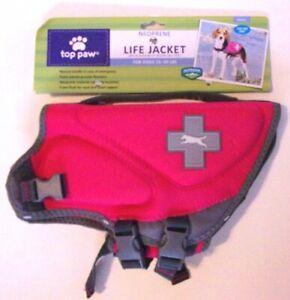 ROXANNEPR only - 2 x Neoprene Dog Life Jacket -  Sz Small Pink