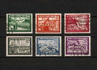 (YYAW 541) Germany 1941 USED Mich 773 - 778 SEMI Third Reich Nazi