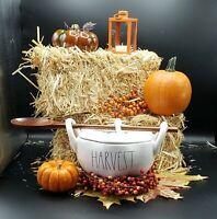Rae Dunn HARVEST Pumpkin Soup Tureen  Wooden Spoon HTF / New/ Thanksgiving/ Fall