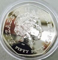 2009 50p Coin Kew Gardens RARE FIFTY PENCE (BRILLIANT UNCIRCULATED MINT)