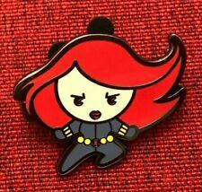 disney pin Black Widow marvel avengers Scarlett Johansson stylized mystery