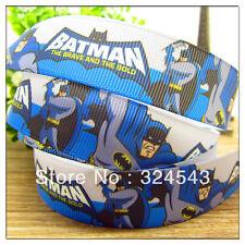 """Cinta de Batman 7/8"""" de ancho nuevo vendedor Reino Unido Libre P&P"""