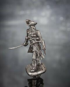 Toy Soldiers Pirate Black Beard 1/32 Metal Figure 54mm Scale Miniature