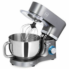 BCP 660W 6-Speed 6.3qt Steel Kitchen Stand Mixer w/ 3 Attachments Stainless