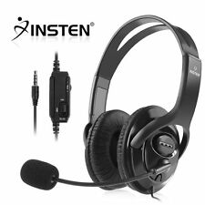 Wired Gaming Stereo Headset Headphone with Microphone for Sony PS4 PlayStation 4