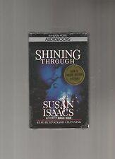 Shining Through by Susan Isaacs (1988, Cassette, Abridged),AUD