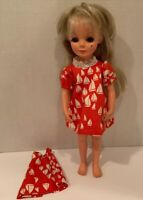 "MOD 3 Pc Red/Wht Sailboat Dress for 17"" Crissy/Alta Moda Furga S Doll -NO DOLL"