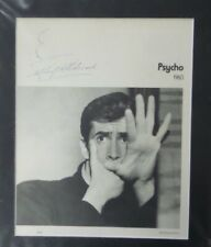 New ListingAlfred Hitchcock Autograph Signature - Psycho Movie Program 1960 Signed - Sketch