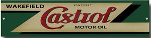 CASTROL OILS METAL GARAGE SIGN.CLASSIC CASTROL OILS.Zlm