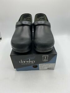 Dansko Professional Tooled Woman's Shoes Black 906-020202 Size 39 preowned (M1)