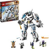 LEGO 71738 NINJAGO Legacy Zane's Titan Mech Battle Season 5 Building Toy Playset