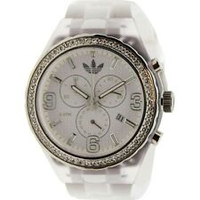 $95 Adidas Cambridge Watch white clear