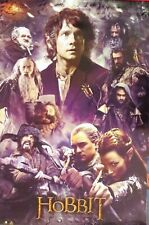 The Hobbit 3 Collage Smaug Poster