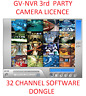 Geovision Software Dongle Licence 3rd Party IP Camera's 16 or 32Ch GV-NVR.