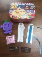 Candy Crush small case with hair accessories, calculator and cuddly toy -7 items
