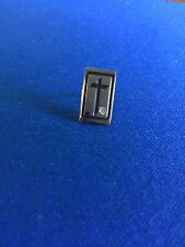 10k Gold Filled Tie Tack With Cross And Diamond
