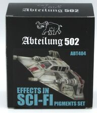 Abteilung 502 ABT404 Effects in Sci-Fi Pigments Set (4x20ml Bottles) HiTech