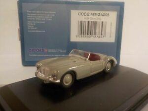 Model Car, MGA - Dove Grey, 1/76 Oxford Diecast 76MGA005