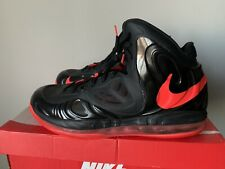 Preowned Nike Air Max Hyperposite 2012 Black Crimson Size 10.5 Red 524862-002