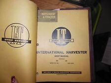 International Harvester 600 650 Tractor I&T Shop Service Repair Manual IH-11