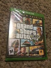 Grand Theft Auto V  Premium Edition xbox One brand new factory sealed video game