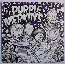 "The Purple Merkins–Purple Merkin Power, Vinyl 7"" Single, Ltd Edition, Purple"