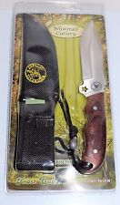 KNIFE FROST WHITETAIL, 9 INCH HUNTING FIXED BLADE, W/SHEATH&LANYARD, CPWT-980RW