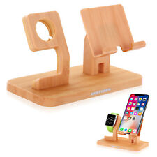 Für Apple iWatch Dock Station Stand Halter iPhone X 8 7 Handy Ständer Halterung