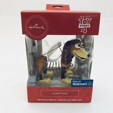 Hallmark Toy Story Slinky Pixar Christmas Ornament Red Box Walmart Exclusive New