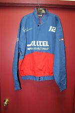 New #12 Ryan Newman ALLTEL NASCAR Racing zip up twill cotton jacket men's XL