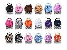 PonyBun® 3-pieces in one, easy hair bun maker. 3-Pack: blonde, cheetah & zebra.