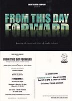 FROM THIS DAY FORWARD - A PLAY ADVERTISING UNUSED COLOUR POSTCARD (a)
