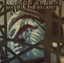 Jackson Browne - Lives In The Balance (LP) (VG/VG-)