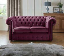 Chesterfield Brand New Sofa Settee 2 Seater Fabric Luxury Velvet Handmade Couch
