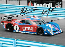 Andy Wallace SIGNED ,Crawford Pontiac Grand Am Prototype 2009