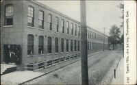 Thompsonville CT Tapestry Mills c1910 Postcard