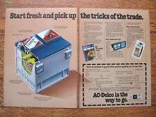 AC Delco GM Batteries Battery Print Advertising Ad Chevy Buick GMC Cadillac